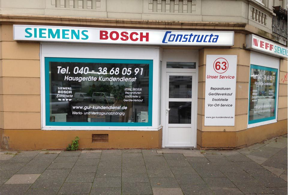 Siemens Kühlschrank Reparatur : Elektrogeräte im raum hamburg grunow & rogat gbr